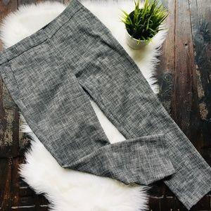 ANN TAYLOR Devin Fit Ankle Career Dress Pants 4